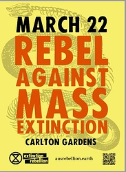 Rebel against mass extinction