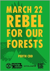 Rebel for our forests