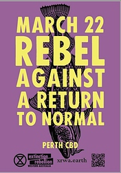 Rebel against a return to normal