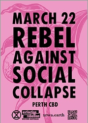 Rebel against social collapse